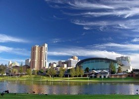 Adelaide and River Torrens